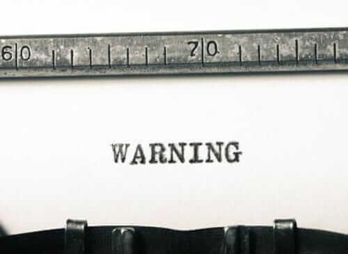 Modèle : lettre d'avertissement