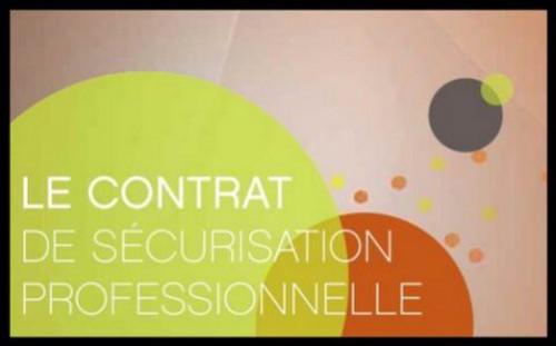 Lettre à un salarié ayant accepté le contrat de sécurisation professionnelle